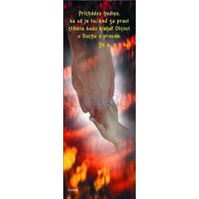 Duch Svätý - Prichádza hodina, ba už je tu, keď sa praví ctitelia budú klaňať Otcovi v Duchu a pravde.