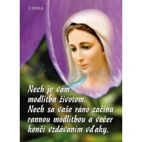 Mária - Nech je vám modlitba životom...