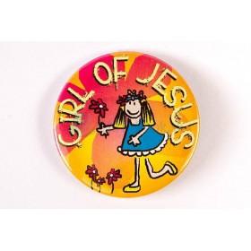 Odznak - Girl Of Jesus (2.5cm