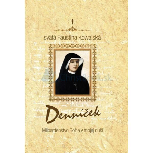 Denníček - pevná väzba (sv.Faustína Kowalská)