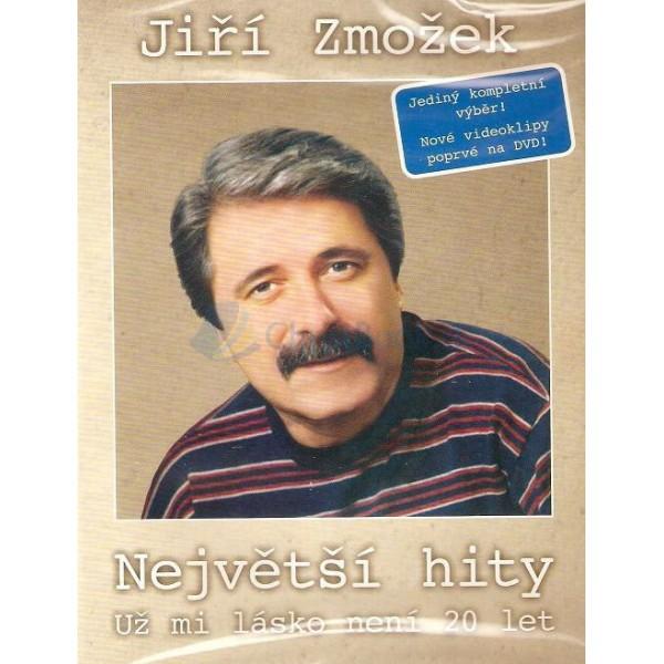 DVD - Největší hity (Jiří Zmožek)