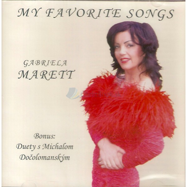 CD - My favorite songs (Gabriela Marett)