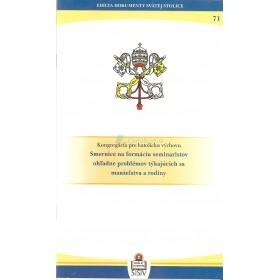 Pápežské dokumenty - Smernice na formáciu seminaristov