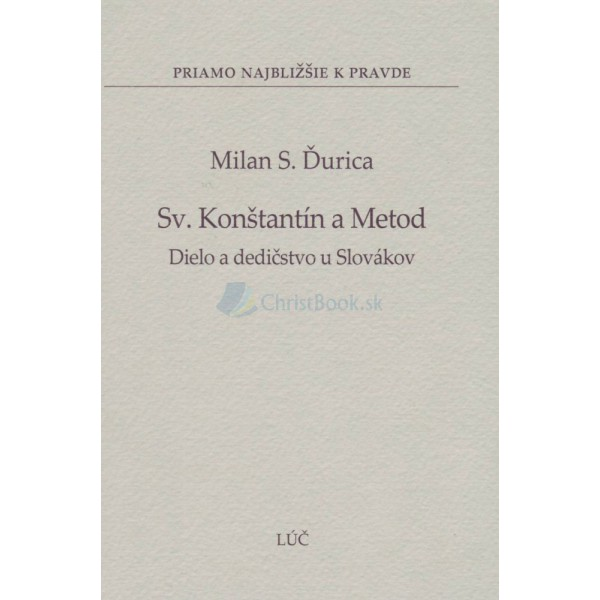 Sv. Konštantín a Metod (Milan S. Ďurica)