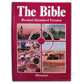 Biblia anglická - RSV (Ilustrovaná)
