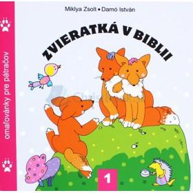 Zvieratká v Biblii 1 - omaľovánky (Zsolt Miklya)