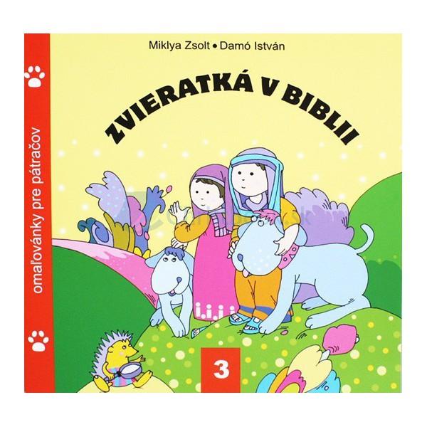 Zvieratká v Biblii 3 - omaľovánky (Zsolt Miklya)