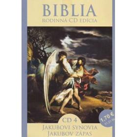 CD  Biblia - Jakubovi synovia, Jakubov zápas (CD4.)