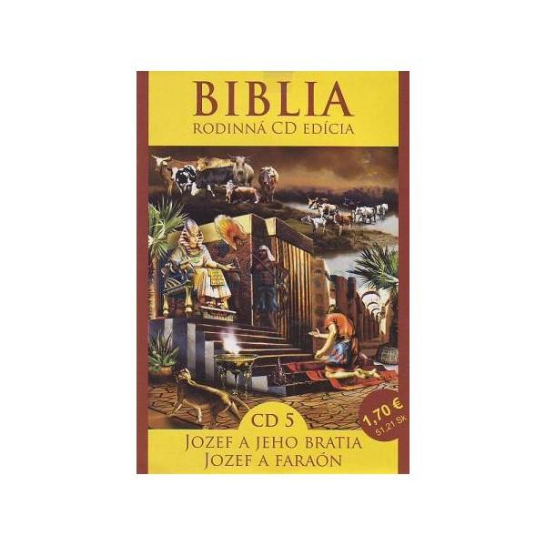 CD Biblia - Jozef a jeho bratia, Jozef a faraón (CD5.)