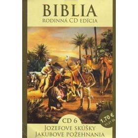 CD - BiCD Biblia - Jozefove skúšky, Jakubove požehnanie (CD6.)