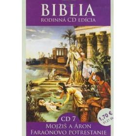 CD  Biblia  - Mojžiš a Áron, Faraónovo potrestanie (CD7.)