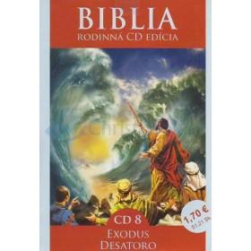 CD  Biblia  - Exodus, Desatoro (CD8.)
