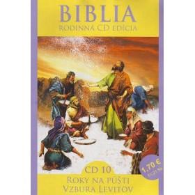 CD Biblia  - Roky na púšti, Vzbura Levitov (CD10.)
