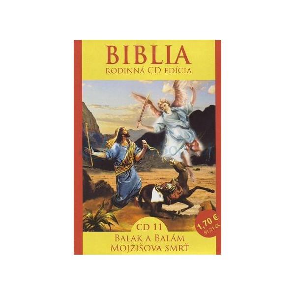 CD  Biblia - Balak a Balám (CD11.)