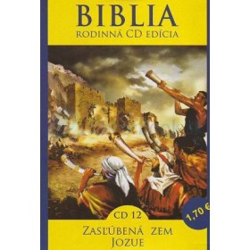 CD  Biblia - Zasľúbená Zem, Jozue (CD12.)