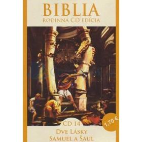 CD  Biblia - Dve lásky, Samuel a Šaul (CD14.)