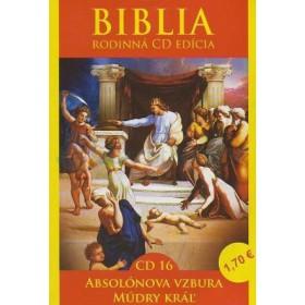 CD  Biblia  - Absolónova vzbura, Múdry Kráľ (CD16.)