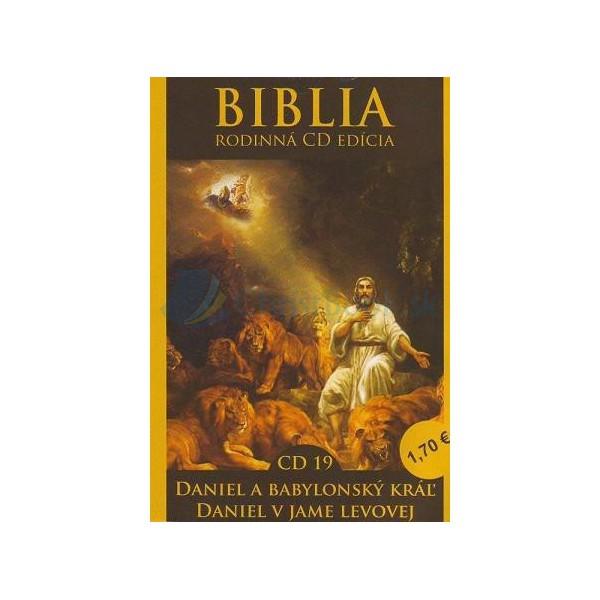 CD  Biblia  - Daniel a babylonský kráľ, Daniel v jame levovej (CD19.)