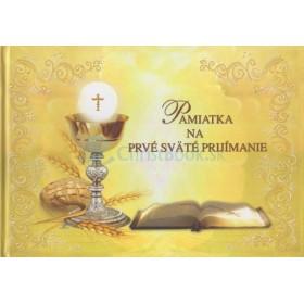 Pamiatka na prvé sväté prijímanie (Francesca)