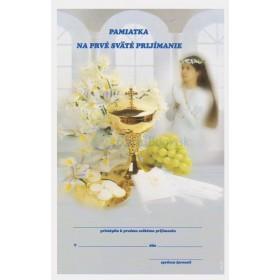 Pamiatka na prvé sväté prijímanie (3)
