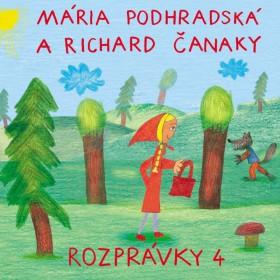 CD - Rozprávky 4 (Mária Podhradská, Richard Čanaky)