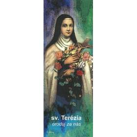 Záložka sv. Terézia