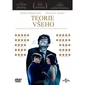 DVD - Teorie všeho (The Theory of Everything)