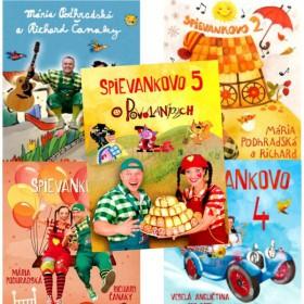 Sada - Spievankovo 5 DVD (Podhradská, Čanaky)