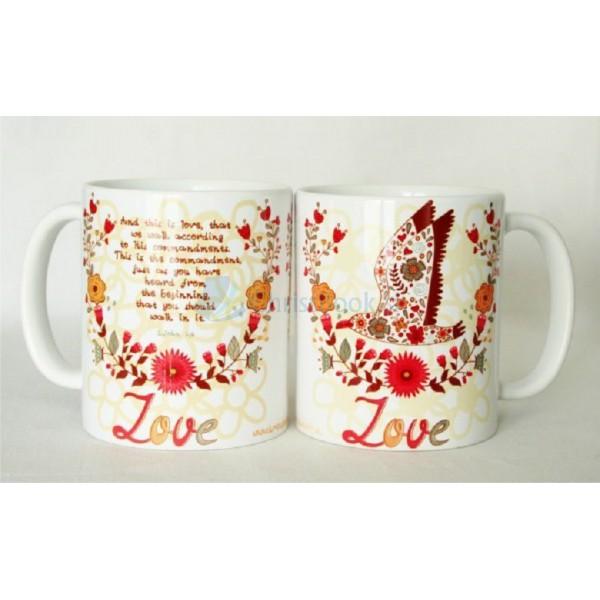 Hrnček – Love 2. John 1,6