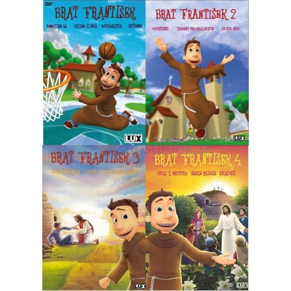Sada - 4 DVD Brat František