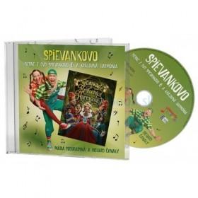CD - Piesne z DVD Spievankovo 6 a Kráľovná Harmónia