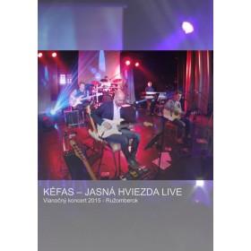 DVD - Jasná hviezda LIVE (Kéfas)