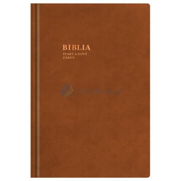 Biblia 2016 (kožená)